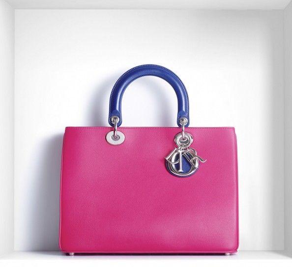 Christian Dior, borse primavera estate 2014 - Handbag Diorissimo - #ChristianDior #bags #bag