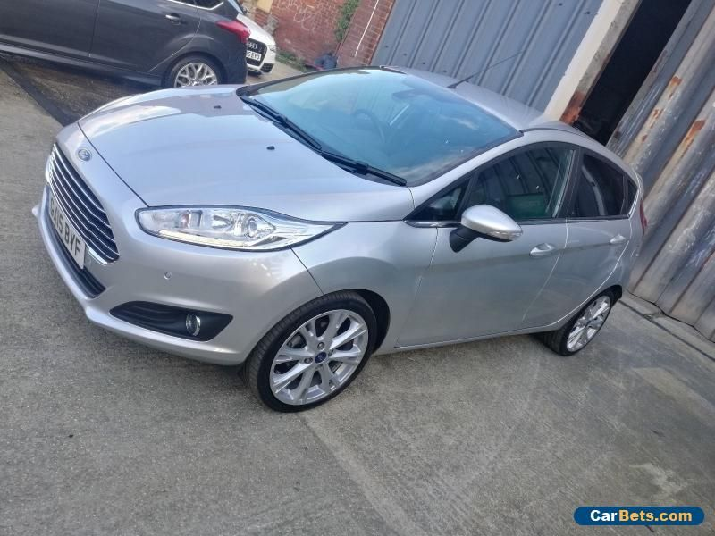 Car For Sale 2015 Ford Fiesta Titanium X 1 0 Ecoboost 5 Door Cat