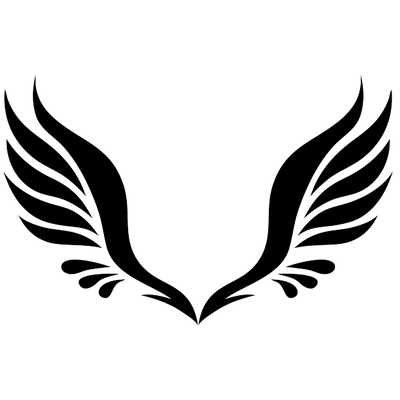 Free Download Simple Angel Wings Tattoo Transparent Png Image Clipart Picture With No Background Misce Angel Wings Tattoo Wing Tattoo Designs Wings Tattoo