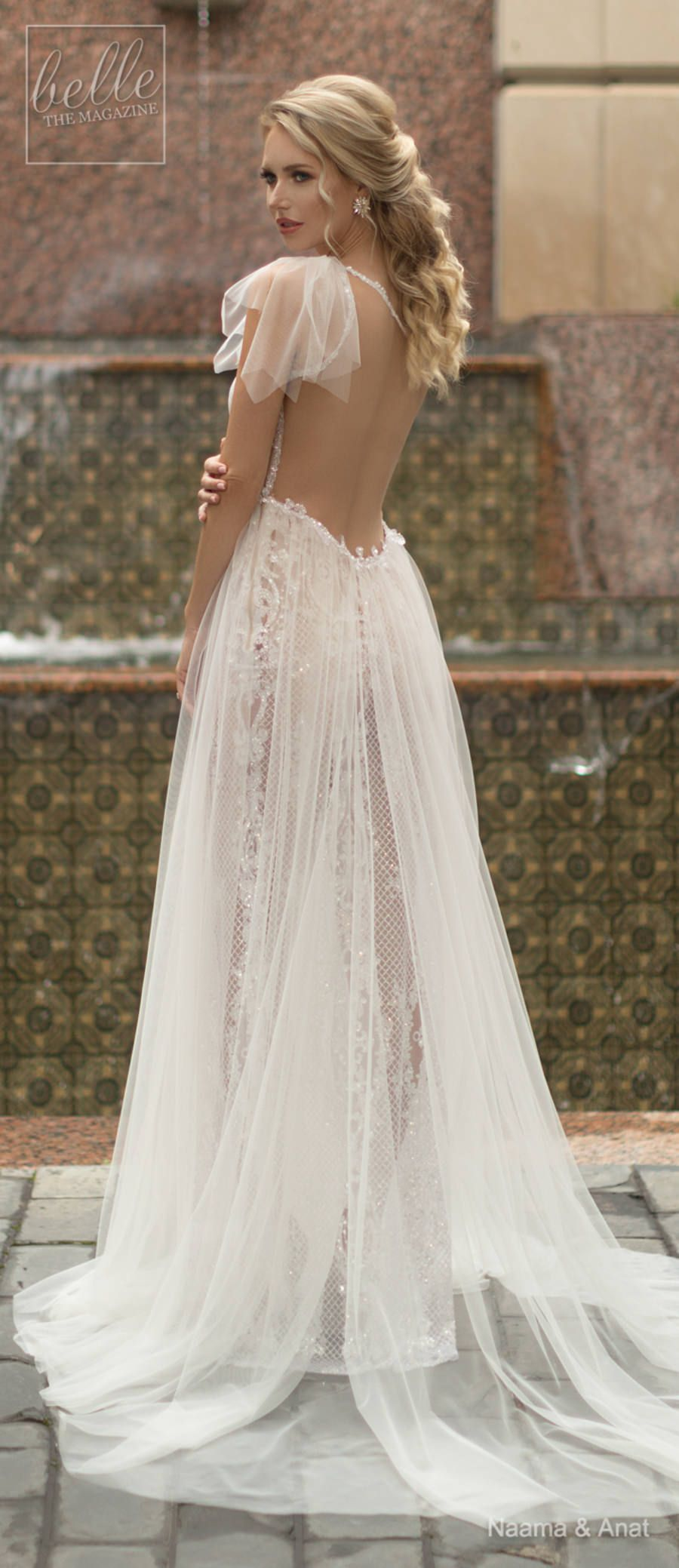 Naama and anat wedding dress collection dancing up the aisle