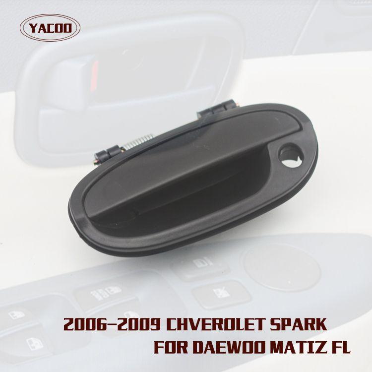 1pcs Front Left Exterior Door Handle For Chevrolet Spark Oem