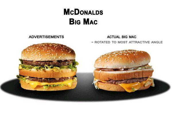 McDonald's Big Mac | What Fast Food Really Looks Like