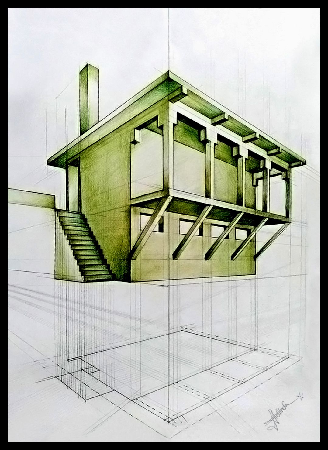 Architecture Drawing Practice