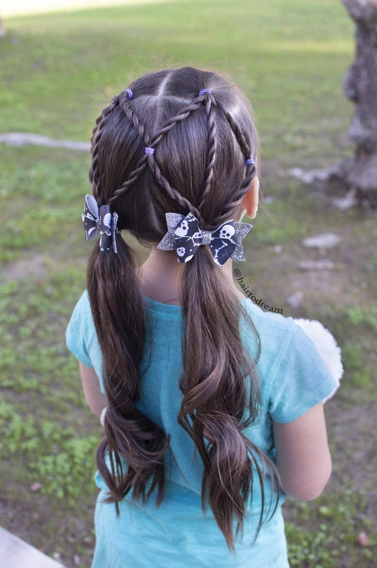 rope twist braids easy hairstyles for little girls