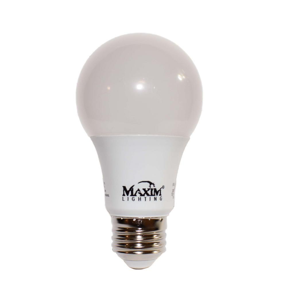 Maxim Lighting 100 Watt Equivalent E26 Dimmable Led Light Bulb 1 Bulb Bl12e26ft120v30 Dimmable Led Lights White Led Lights Light Bulb