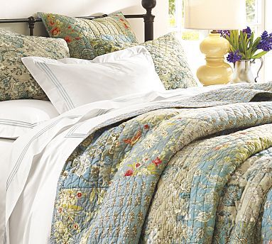 Neena Patchwork Quilt Full Queen At Pottery Barn Home Sweet Home