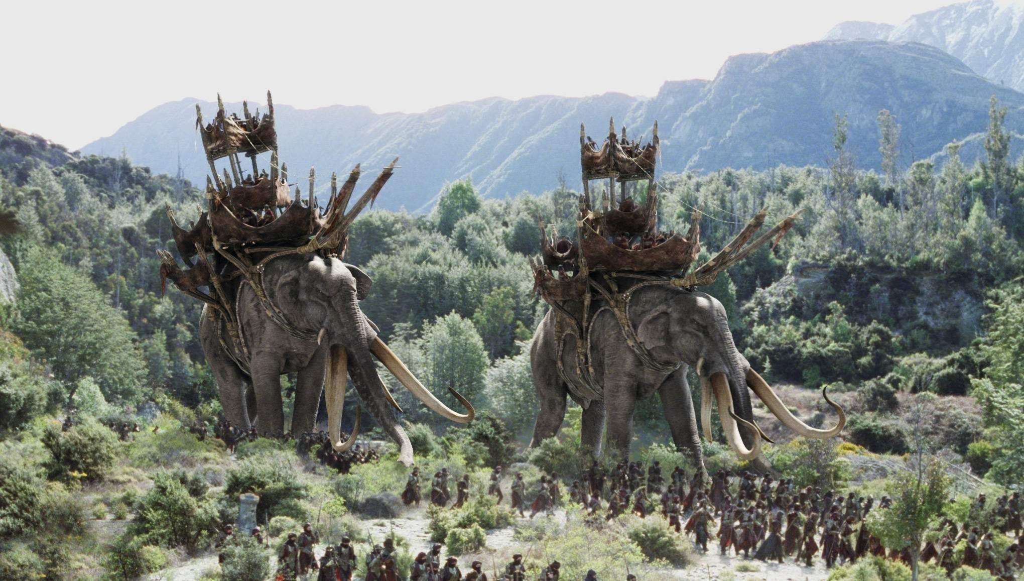 Les oliphants du Seigneur des anneaux - Cultea