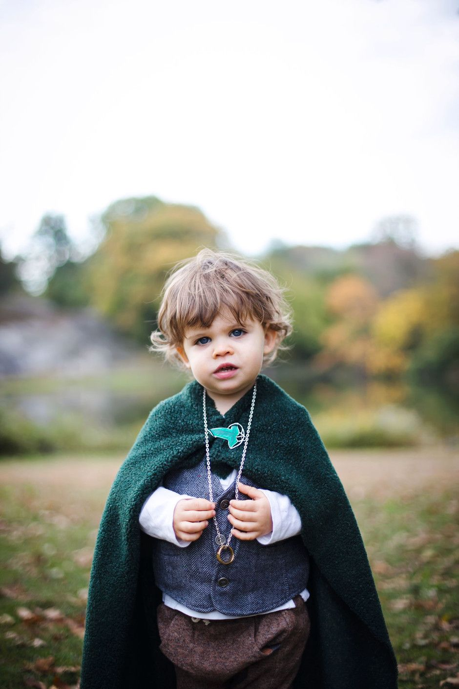 Little Lord of the Rings. Toddler Hobbit Costume!!