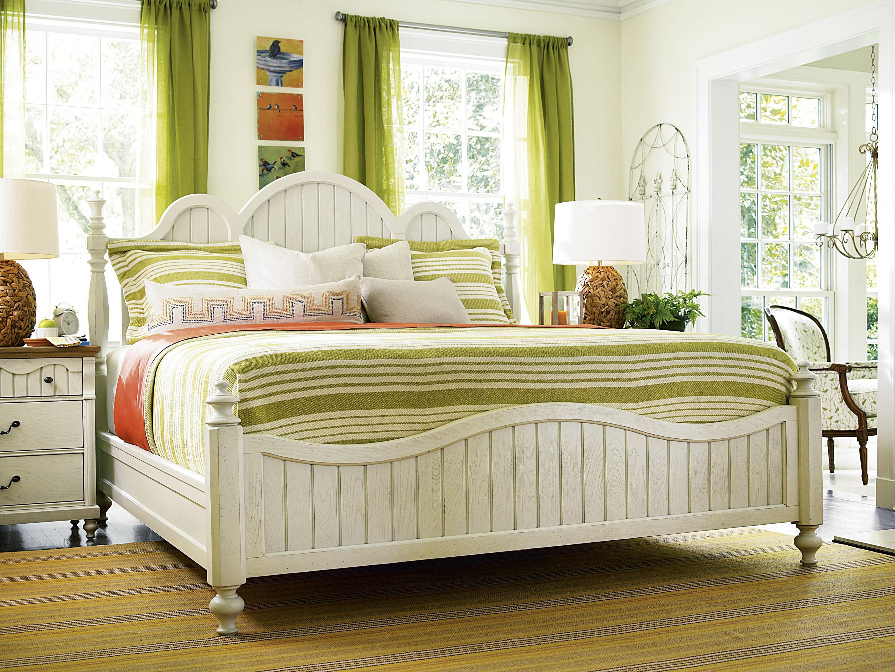 American Cottage King American Cottage Bed with Turned Finials by Better Homes and Gardens - AHFA - Headboard & Footboard Dealer Locator