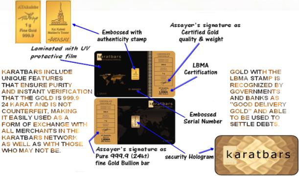 "Karatbars ""GOLD"" cards made of pure 999.9 24 karat fine gold found At ""TRIPLECLICKS""!!   sheronfenty"