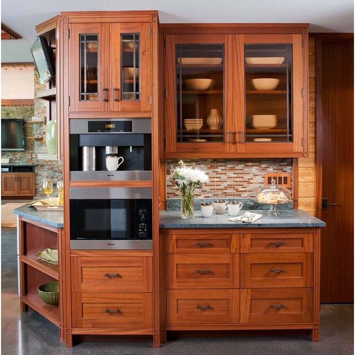 Prairie Point Apartments: Crown Point Cabinetry Custom Prairie Style Cabinetry