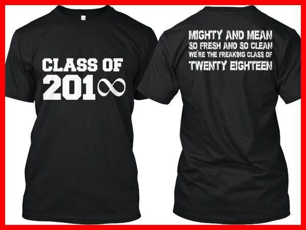 2018 Graduation Tshirts