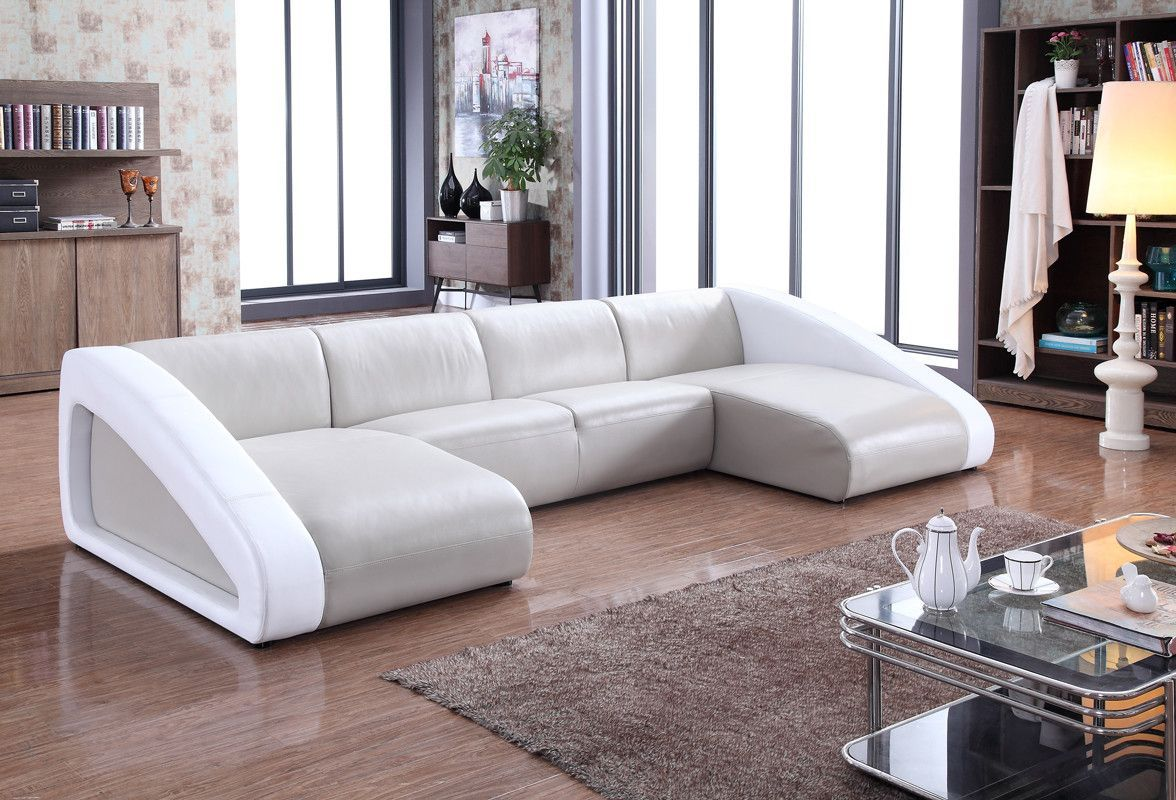 Moderno U Sofa Bandera Sectional Products