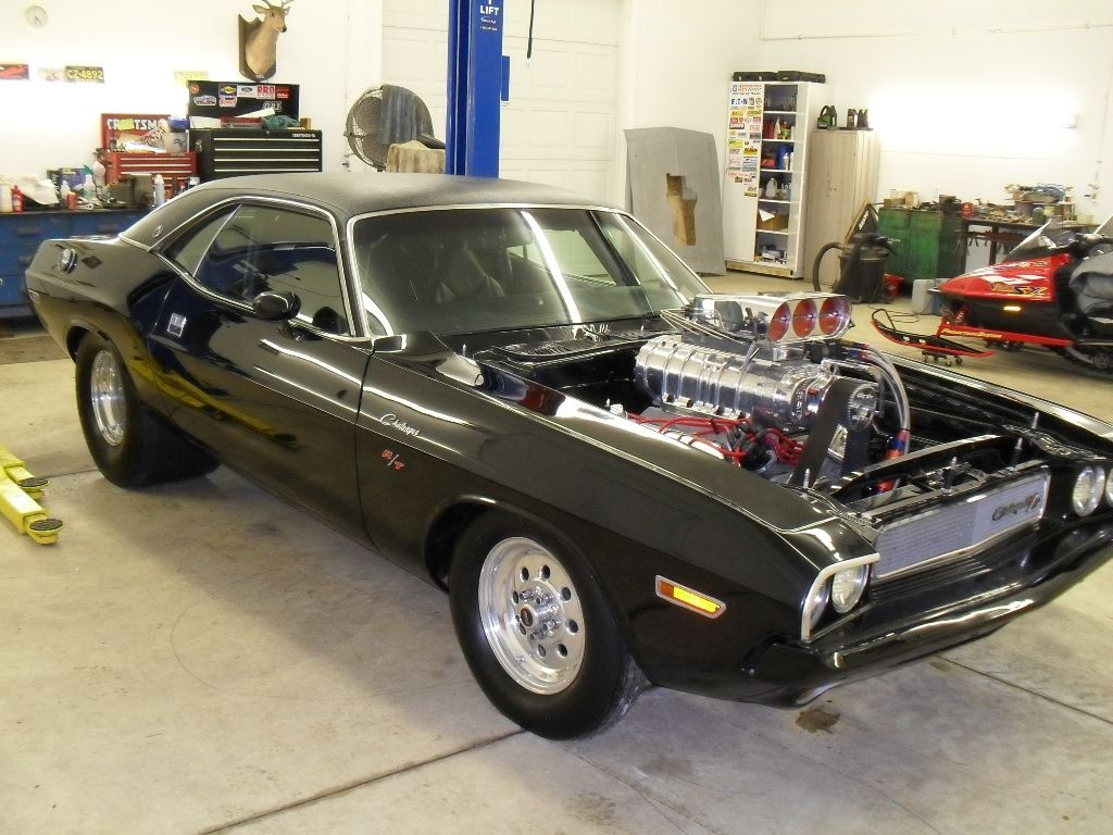 1970 Challenger R/T With Ray Barton 528 Hemi On Detroit