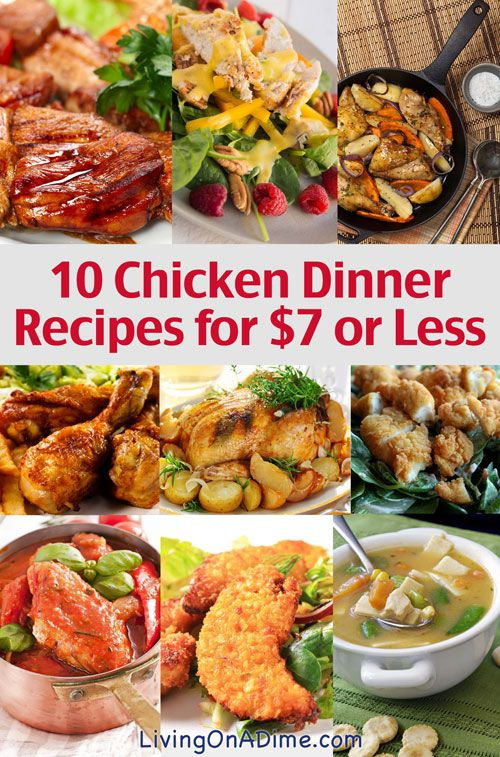 chicken cheap and easy chicken recipes on a budget