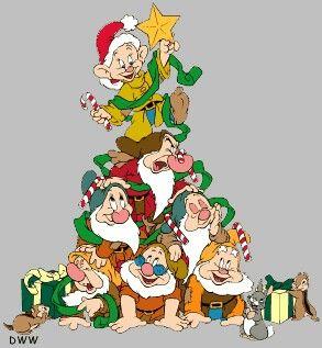 Dwarf Tree Disney Christmas Decorations Christmas Cartoons Disney Merry Christmas