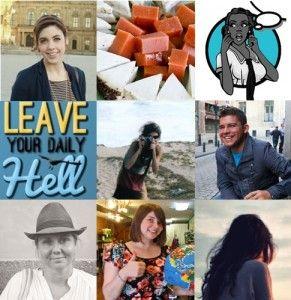These are the faces of June's top bloggers, according to the easyJet Holidays blog team... remember them!