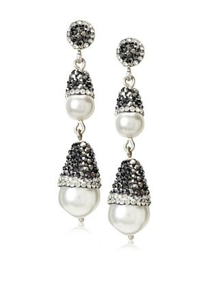 60% OFF Grand Bazaar Double Pearl Acorn Earrings