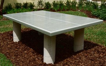 Concrete Outdoor Ping Pong Table Browse Over 2 000 000 Home Design Photos On Houzz Outdoor Ping Pong Table Ping Pong Table Diy Table