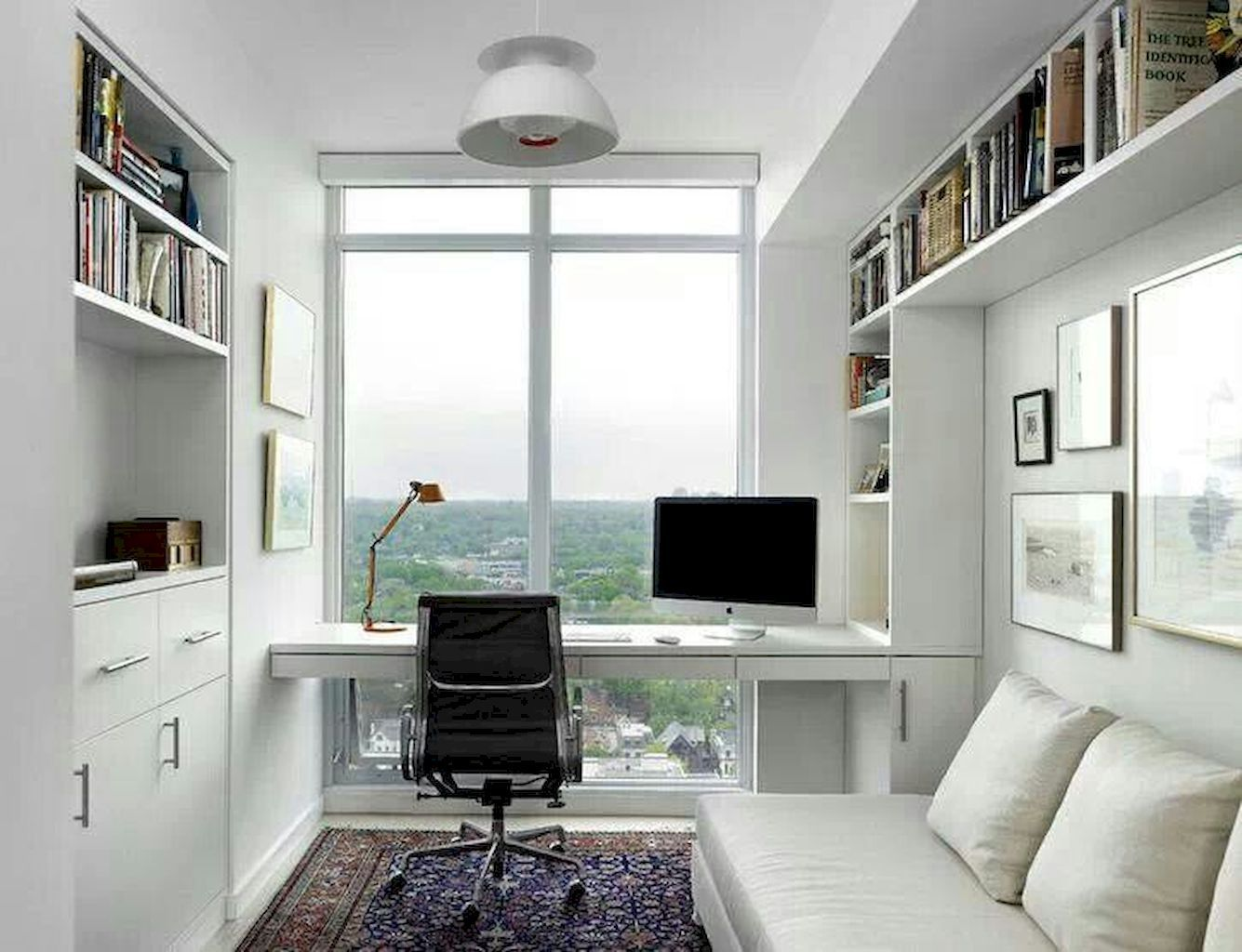 Gorgeous Home Office Ideas With White Desk 28 Modern Home Offices Small Home Offices Office Interior Design
