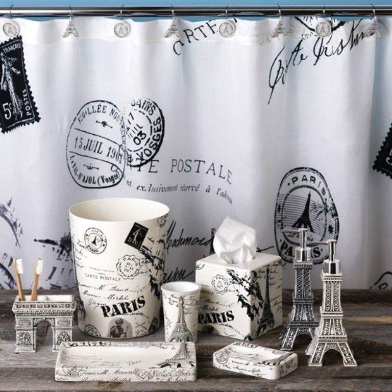 Paris Shower Curtains