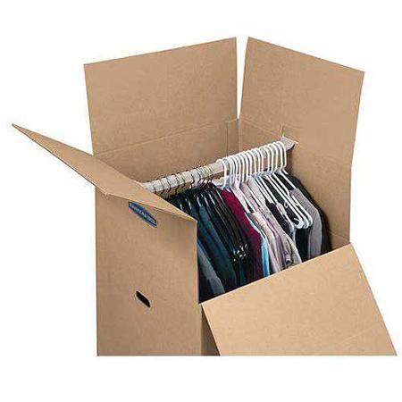 Bankers Box Smoothmove 3pk Wardrobe Box Walmart Com With Images