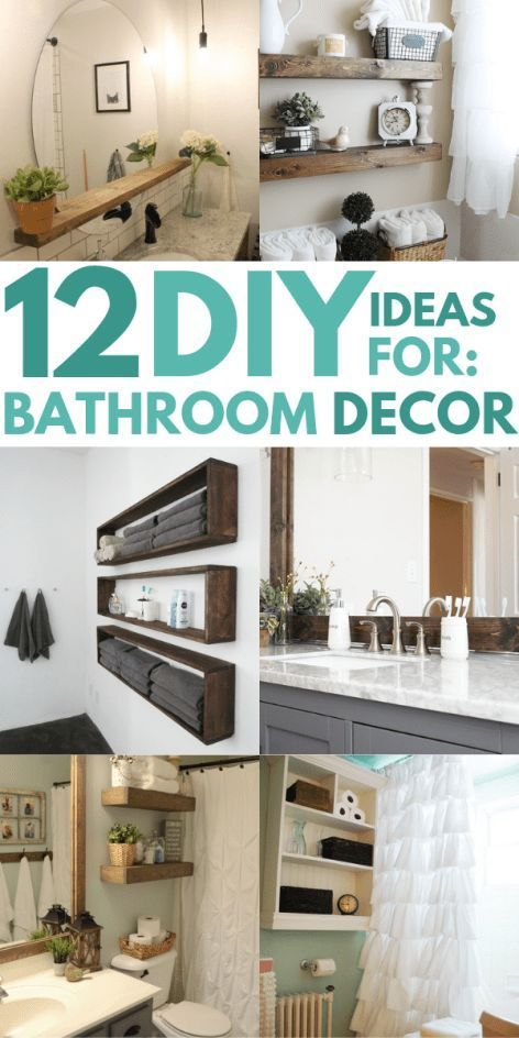 12 DIY Bathroom Decor Ideas On a Budget You Can't Afford to Miss Out On images