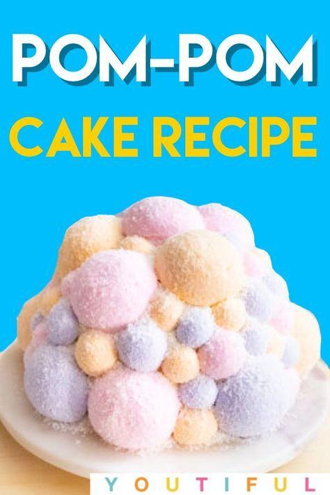 Birthday Cake Ideas | Jaw-Dropping Lemon Pom Pom Cake – Youtiful