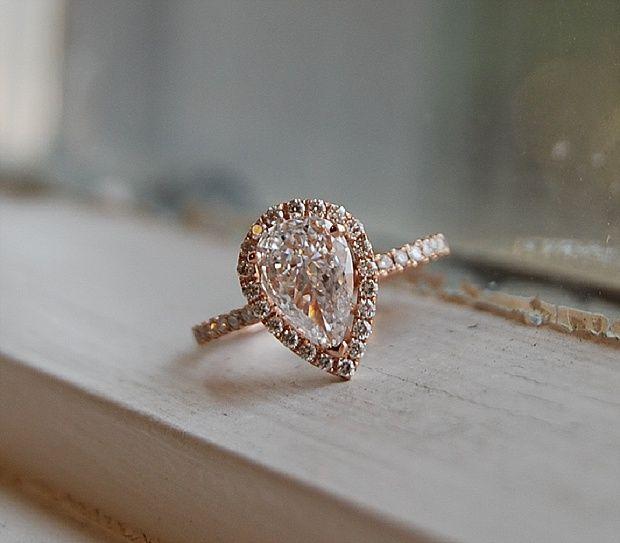 Captivating Beautiful Rose Gold Engagement Rings Rose gold