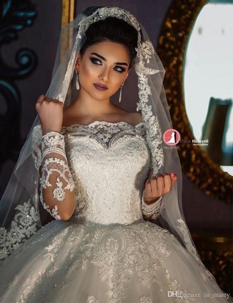 Victorian islamischen Muslim Ballkleid Brautkleider 17 weg von