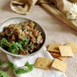 Grilled Eggplant Salsa