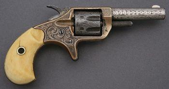 lovely engraved Colt New Line single action revolver