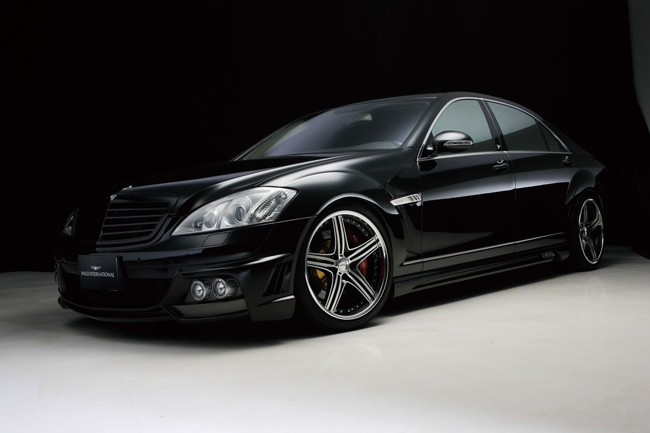 The WALD MercedesBenz SClass Black Bison Edition with
