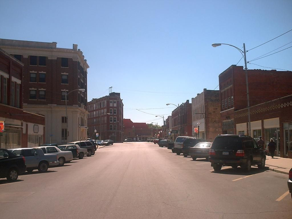 Pawhuska Downtown Historic District In Osage County Oklahoma Pawhuska Osage County Pawhuska Oklahoma