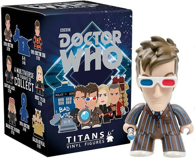 Doctor Who Titans 10th Doctor Gallifrey Collection Mystery Mini Blind Box Vinyl Figure