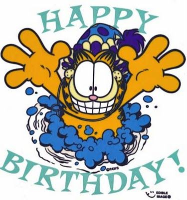 Garfield Happy Birthday Garfield And Odie Garfield Birthday Happy Birthday Greetings