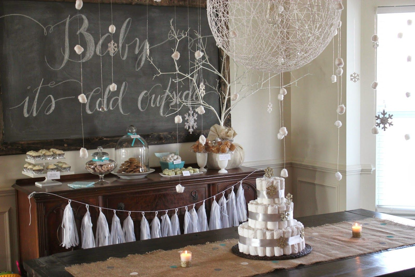 Love And Lion: Winter Themed Baby Shower/sprinkle