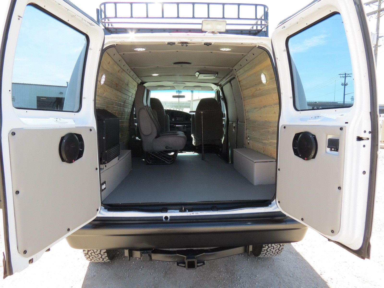 1996 ford conversion van interior