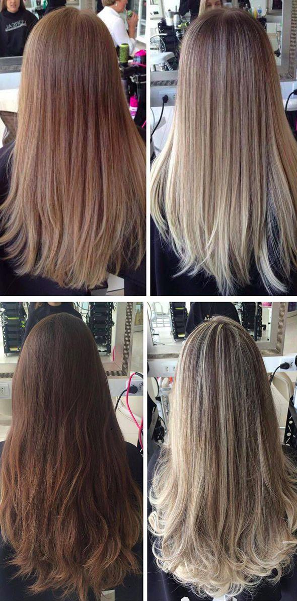 Ombré Hair: Antes & Depois