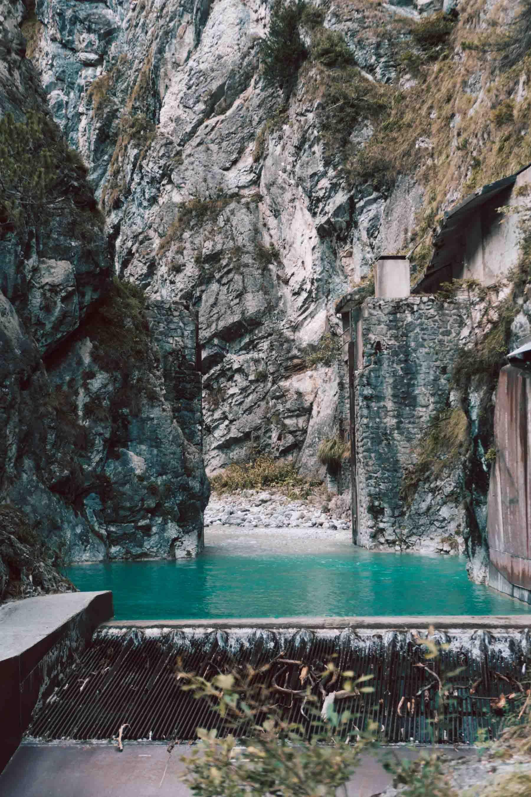 Nasses Loch In Nahaufnahme