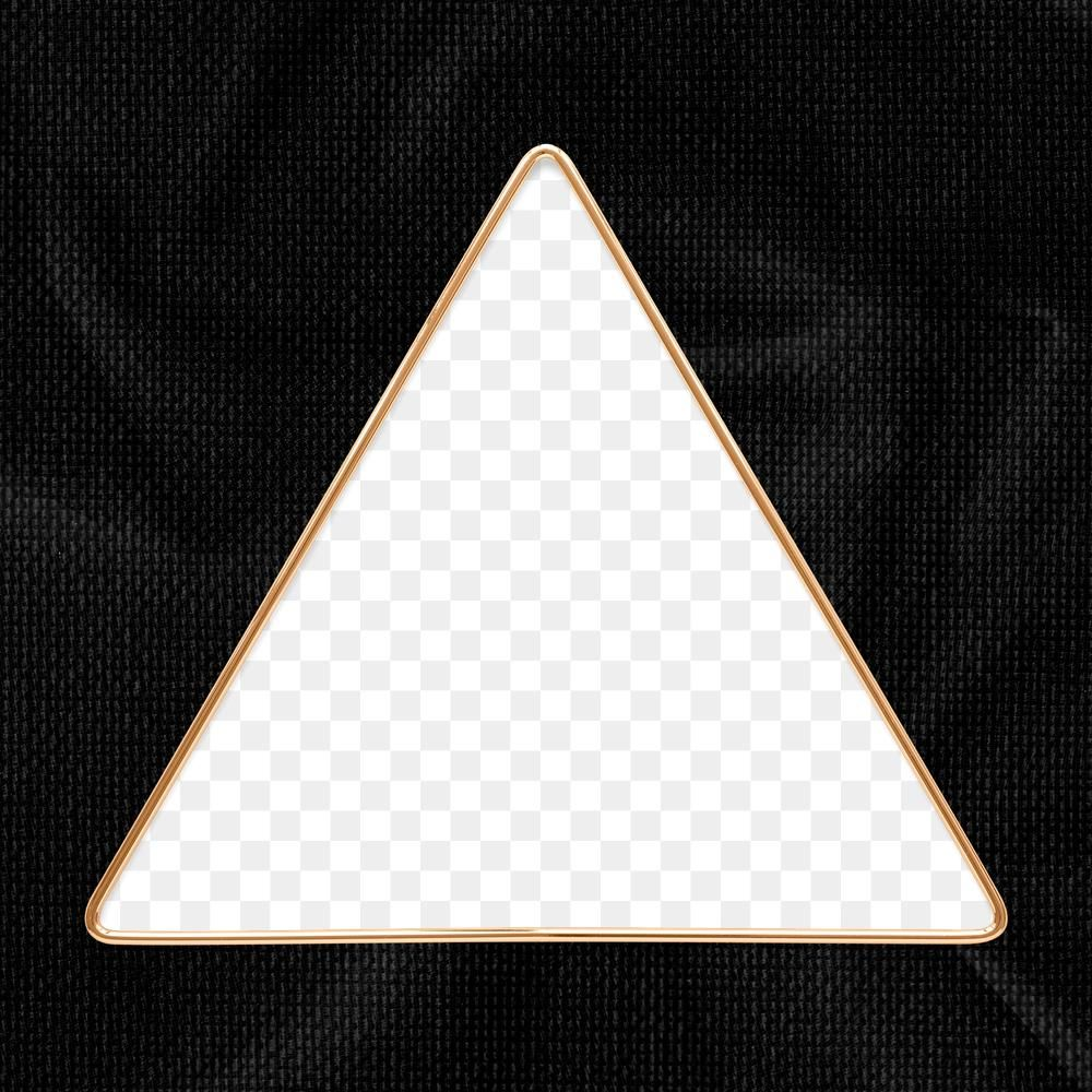 Triangle Gold Frame On A Black Textured Background Design Element Free Image By Rawpixel Black Texture Background Flower Graphic Design Textured Background