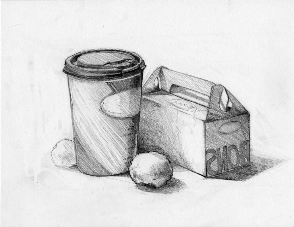 Sketching Still Life Drawing With Pencils | Still life sketch