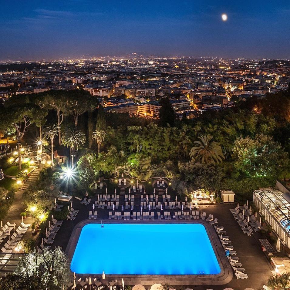 Rome Cavalieri, Waldorf Astoria, Rome, Italy Beautiful