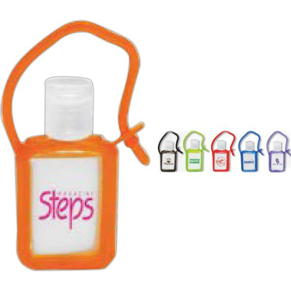 The Tag Along Gel Sanitizer Makes An Ideal And Eye Catching