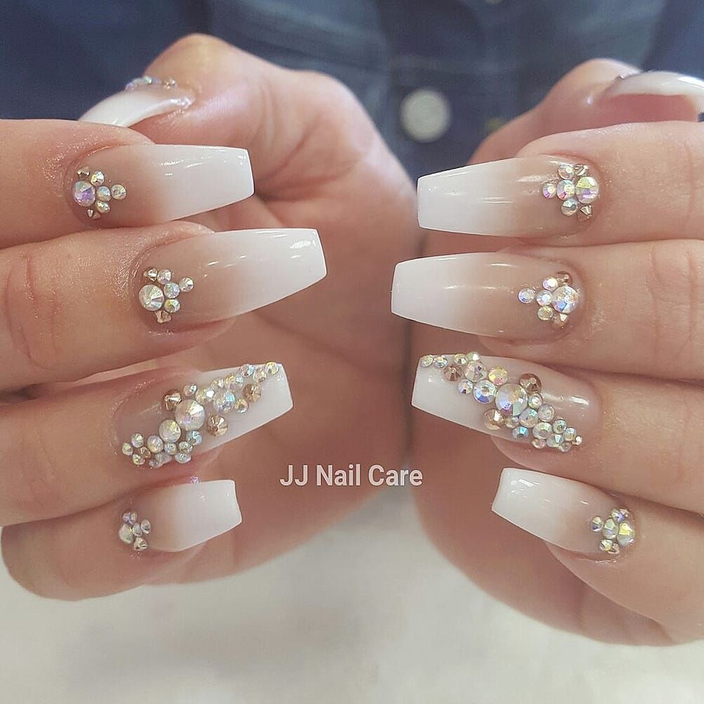 Photo of JJ Nail Care - San Jose, CA, United States. Nude and white ...