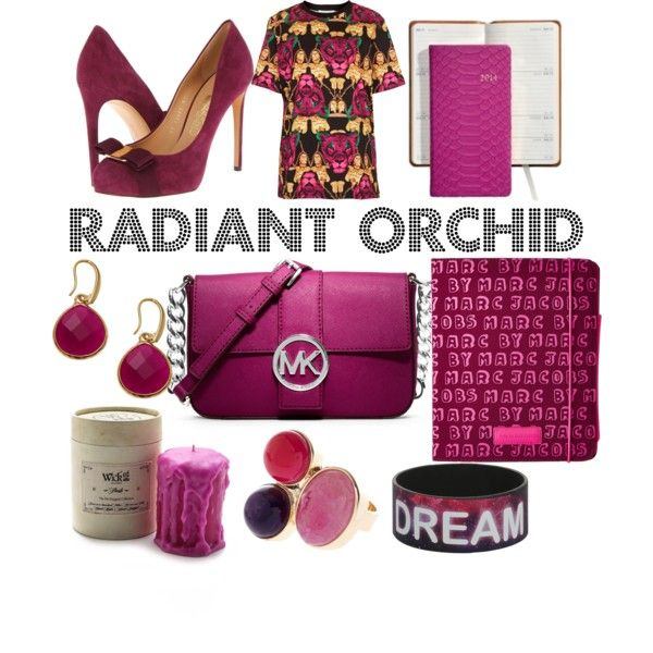 """Radiant Orchid"" by ladywarrior on Polyvore"