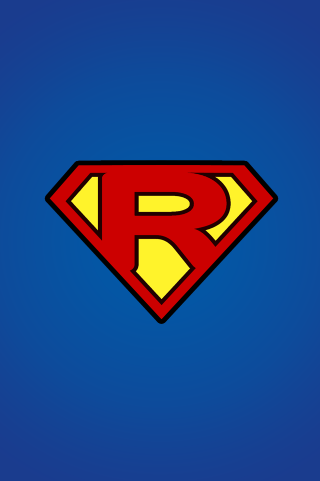 Superman Logo With A R Logo Mobile9 What I Hope To Be