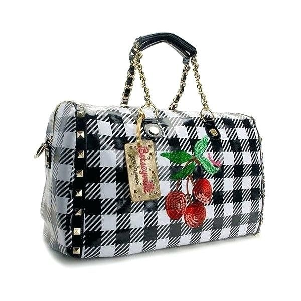 Betsey Johnson Handbags Cherry Pie A Liked On Featuring Bags Shoulder