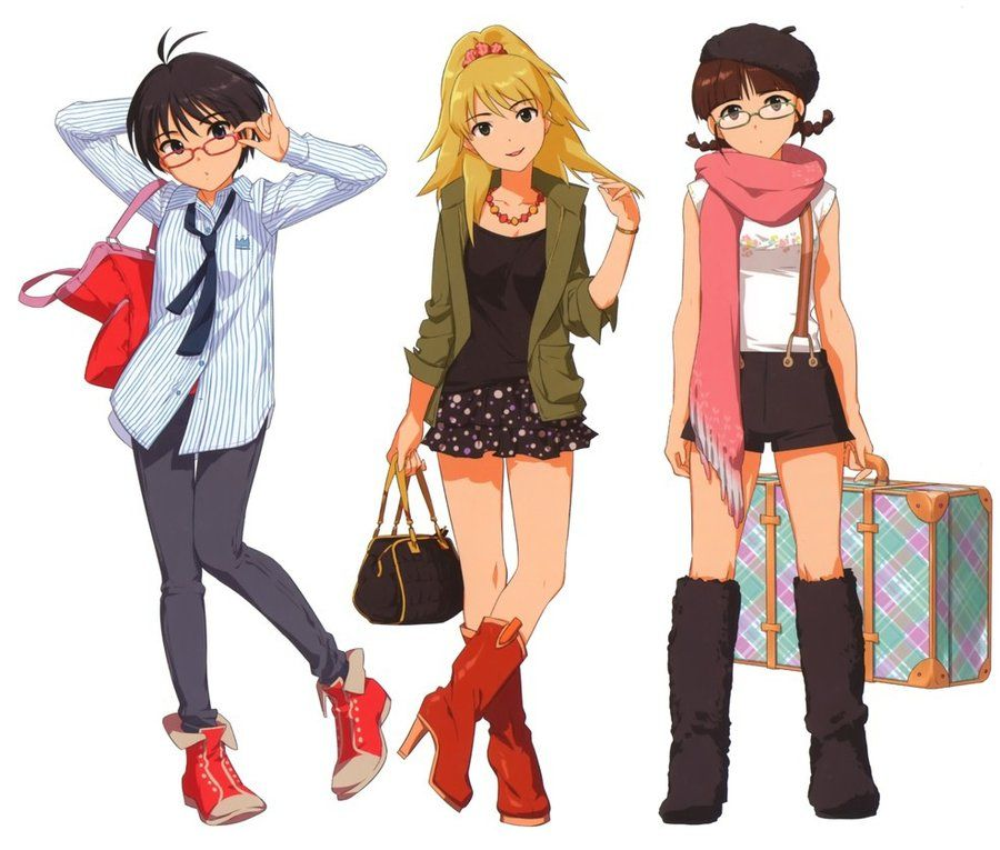 Idolmaster Fashion Girls D