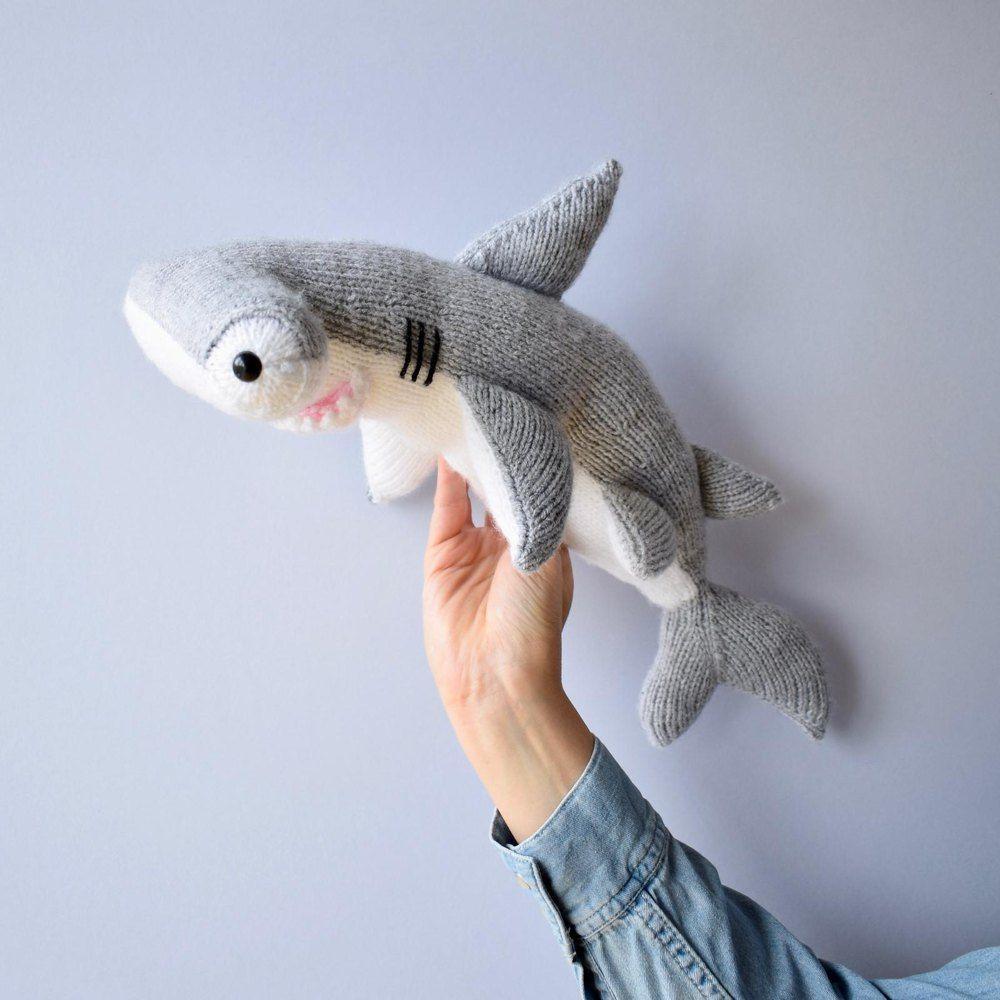 Hammerhead Shark Knitting pattern by Amanda Berry ...